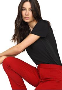 Camiseta Forum Lisa Preta - Kanui