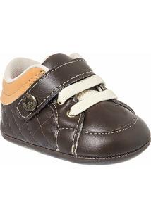 Sapato Bebê Masculino Klin Matelassê - Masculino