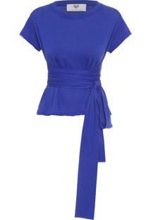 Camiseta Feminina Mc Rondal - Azul