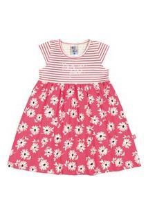 Vestidos Pulla Bulla Cotton Rosa