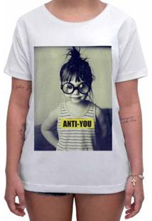 Camiseta Impermanence Estampada Anti-You Feminina - Feminino