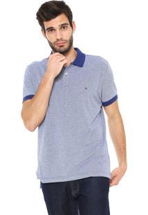98f109f01b Camisa Polo Tommy Hilfiger Reta Essential Oxford Azul-Marinho