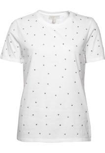 Camiseta Michael Kors Elv Heart Branco