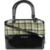 0841f4c23 Bolsa Petite Jolie Handbag Feminina - Feminino-Preto+Amarelo