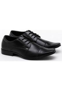 Sapato Social Mr. Post Preto Masculino
