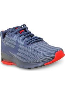 Tenis Fem Nike 844895-403 Air Max Motion Lw Cinza/Coral