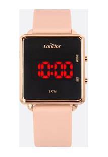Relógio Feminino Digital Led Condor Cojhs31Bad2J