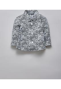 Camisa Bb Pf Liberty Luna Reserva Mini Branco - Kanui