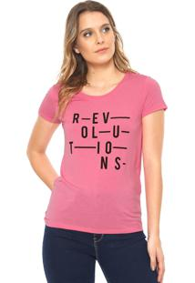 Camiseta Jdy Revolutions Rosa