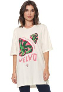 Camiseta Cantão Velvo Off-White