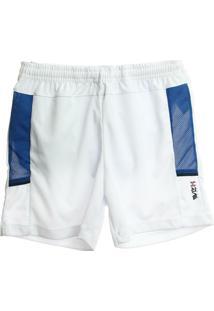 Bermuda Infantil Vr Kids Sport Masculino - Masculino-Branco