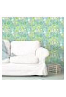 Papel De Parede Autocolante Rolo 0,58 X 3M - Floral 1372