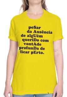 Saudade - Camiseta Basicona Unissex