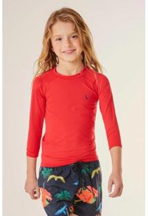 Camiseta Infantil Reserva Mini Sm Lycra Masculina - Masculino