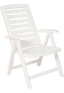 Cadeira Tomar Dobrável – Xplast - Branco