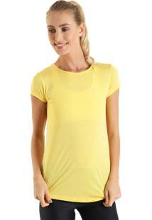 Camiseta Feminina Levíssima - Amarelo - Liquido