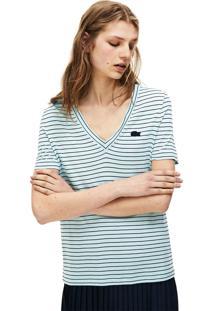 Camiseta Lacoste Azul