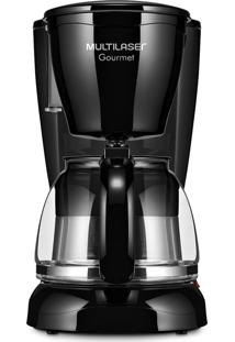 Cafeteira Gourmet Elétrica 30 Xícaras Preta Multilaser 127V - Be03