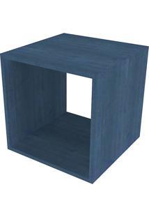 Nicho Quadrado Cubo Ii Azul