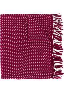 Woolrich Echarpe Com Detalhe De Tassel - Vermelho