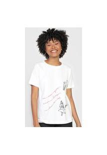 Camiseta Cantão Gaivota Off-White