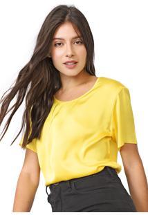 Camiseta Carmim Forever Amarela - Kanui