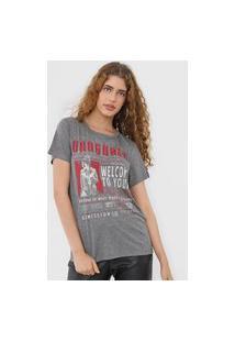 Camiseta Colcci Vanguard Cinza