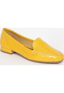 Slipper Croco- Amareloemporionaka