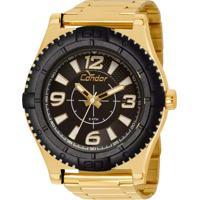 1f56e46ef4a E Clock. Relógio Condor Masculino ...