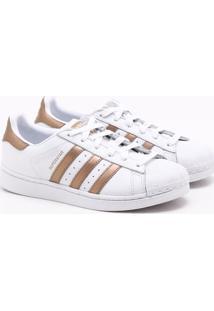 Tênis Adidas Superstar Originals Branco Feminino