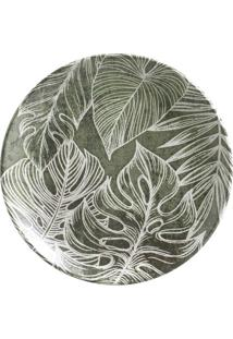 Prato Sobremesa Coup Herbarium Cerâmica 6 Peças Porto Brasil