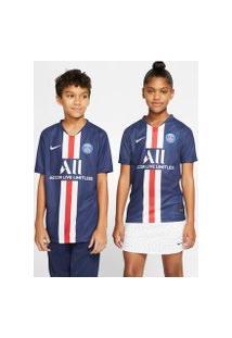 Camiseta Nike Psg I 2019/20 Torcedor Pro Infantil