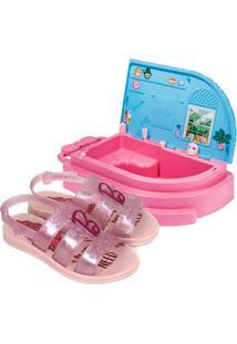 Sandália Barbie Grendene Spa Infantil Feminina 22485
