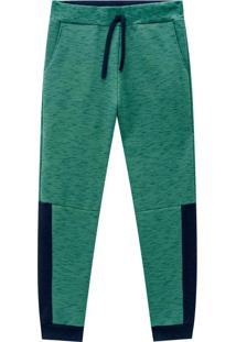 Calça Teen Masculina Verde