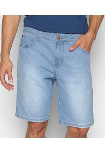 Bermuda Jeans Colcci Davi Masculina - Masculino-Azul