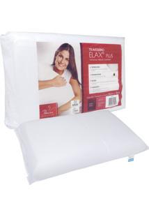 Travesseiro Fibrasca Elax Plus 50X70Cm Branco