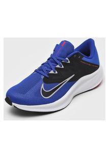 Tênis Nike Quest 3 Azul/Preto