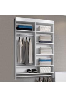 Closet Suspenso Kd1700 Bac Branco - Quiditá Móveis