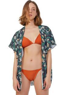 Kimono Estampado Praia