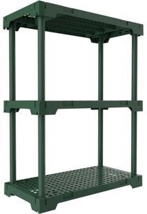 Estante Poly Verde Alecrim (87X70 Cm)