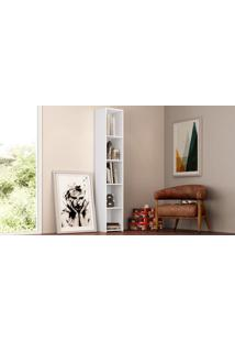 Módulo Organizador Multiuso Branco Ff Acetinado Art In Móveis Multifuncionais