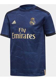 Camisa Real Madrid Infantil Away 19/20 S/N° Torcedor Adidas - Masculino