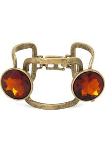 Bracelete Vazado Pedras