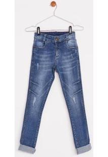 Calça Jeans Express Infantil Vitor - Masculino-Azul