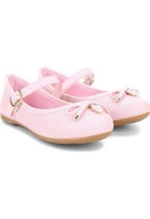 Sapato Infantil Klin Princesa Baby Menina - Feminino-Rosa