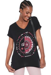 Camiseta Cantão Eclipse Preta