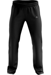 Calça Esportiva De Tactel Ct-100 - Masculino - Muvin - Cbl-15100 Preto