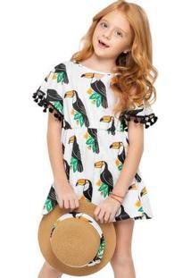 Vestido Infantil Nanai Meia Malha 600258.2326.8