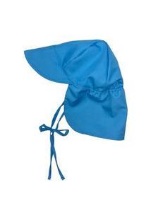 Chapéu Australiano Infantil Fpu 50+ Eco&Play Azul