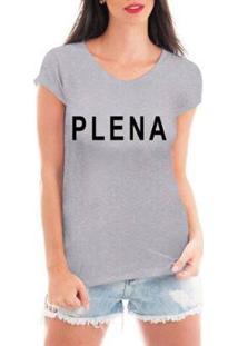 Camiseta Criativa Urbana Plena Feminina - Feminino